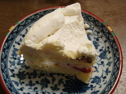 ケーキ残り