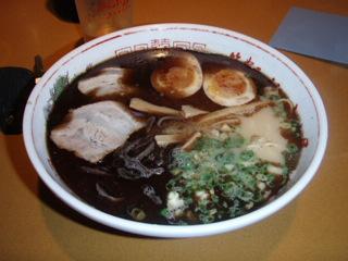 黒マー油ラーメン(山小屋)