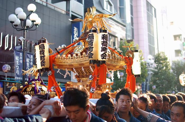 吉祥寺秋祭り1