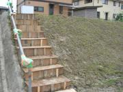立派な階段です