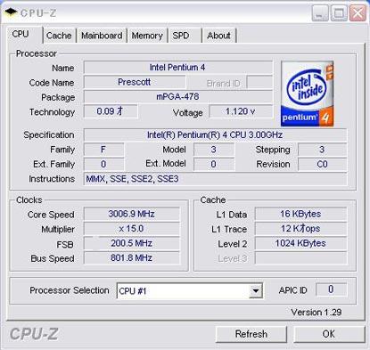 Pentium4 3EGHz_CPUZ