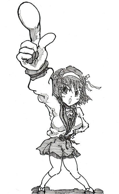 がんばれ涼宮、アタシがNo1よ!!