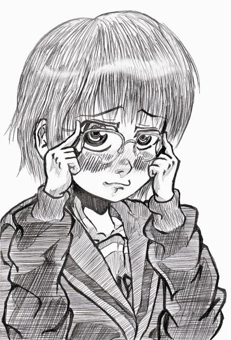 無駄に表情のついた長門は眼鏡掛けて消失だと言い張れば許されるみたいなのが自分の中にあります…