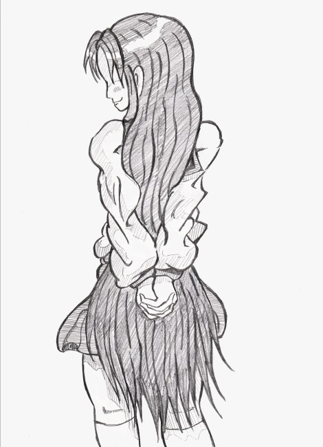 髪もっと長かったですね、ミスった…