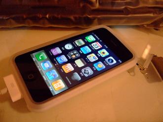iPhone前面