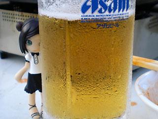 ビールがおいしい季節ですね…