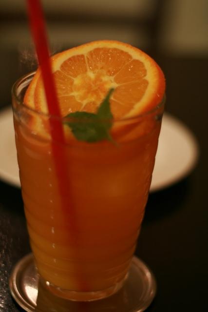 orenge ice tea