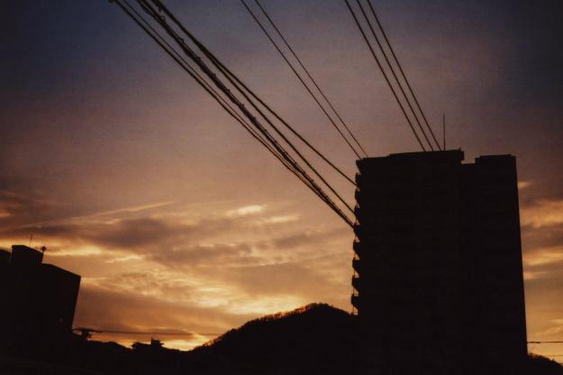 gradation at dusk