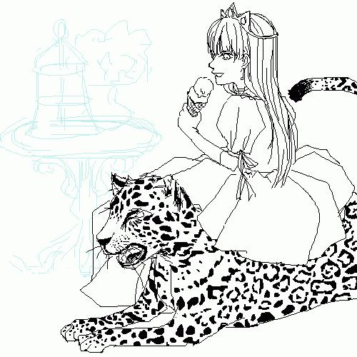 小公主與小豹仔(啥)
