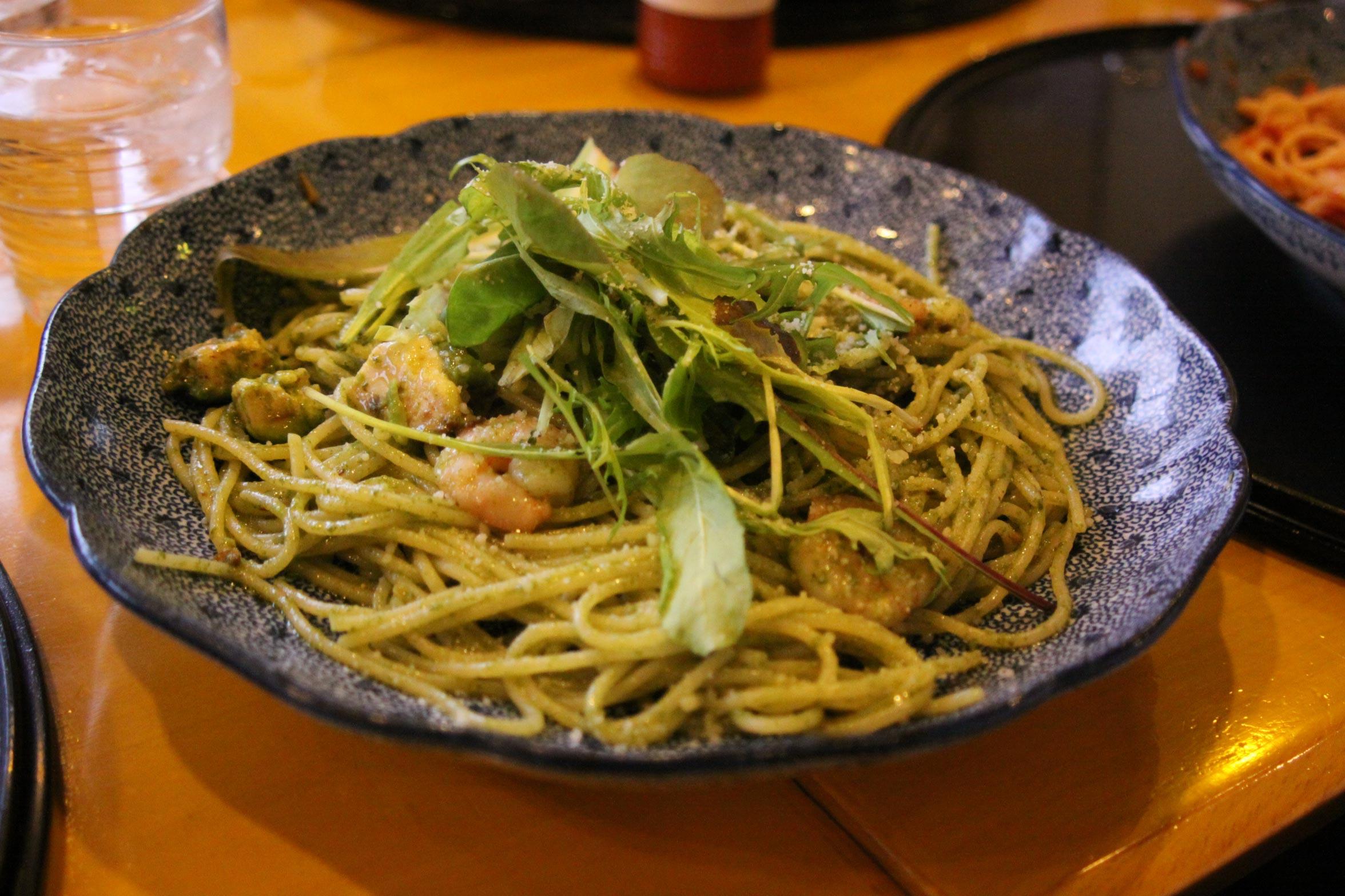 イ西宮の洋麺屋の五右衛門、阪急西宮ガーデンズ近くの娘が食べたスパゲティ