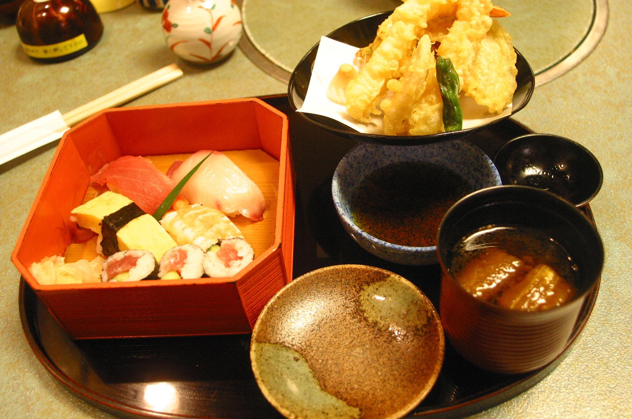 食べました和食がんこの定食
