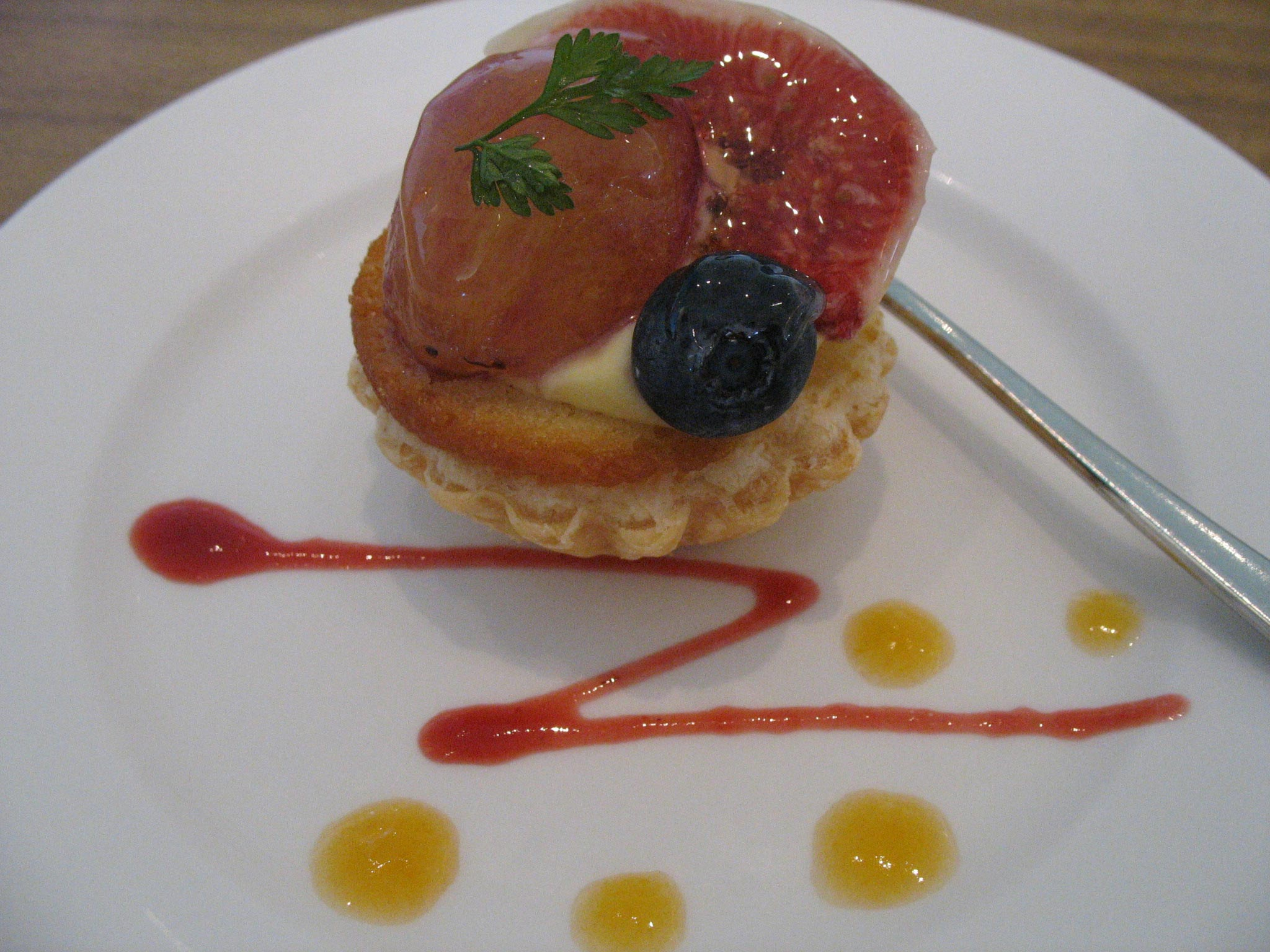 神戸学院大学の学食のデザート