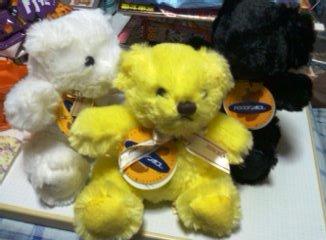 ハウステンボス一番くじのお土産のクマ