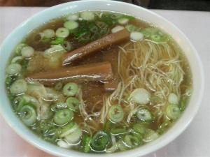 奇珍 ワンタン麺