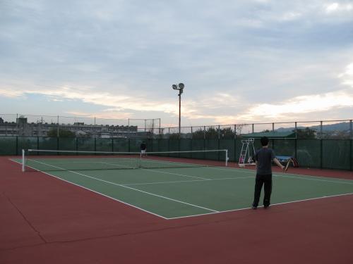 テニス会4回目