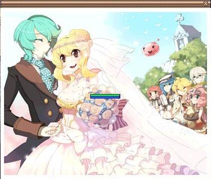 結婚式までやってしまったNPC…いいな、結婚(ぉ