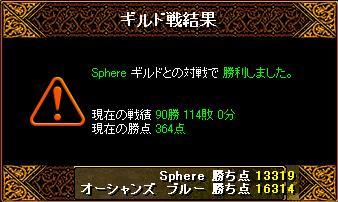 7月8日「Sphere」結果