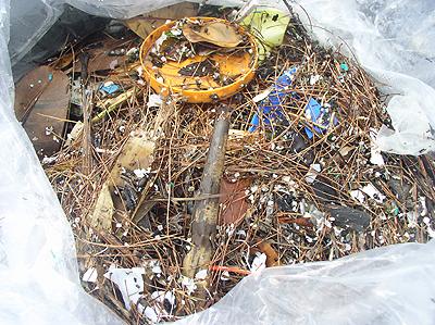 ゴミの内容