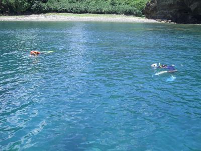 泳ぎ釣り中海岸
