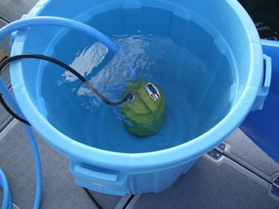 水中ポンプ