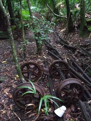 レールと車輪