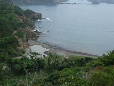 ブタ海岸俯瞰0524