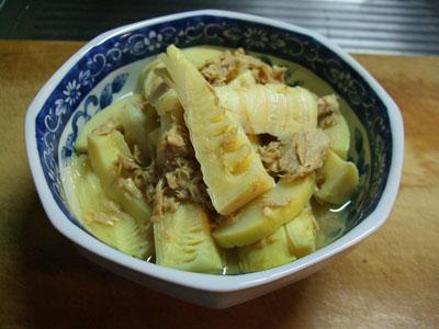タケノコ煮0909