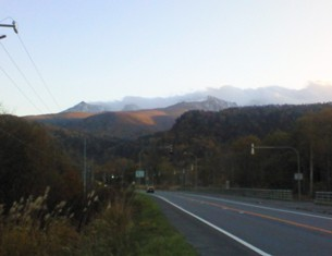 層雲峡 黒岳