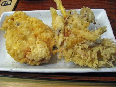 天ぷら2種