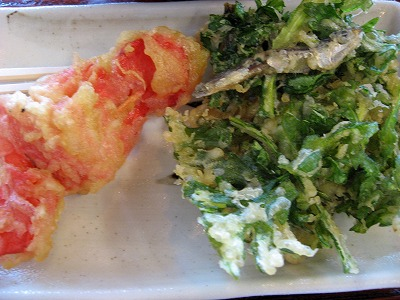 紅生姜、菊菜