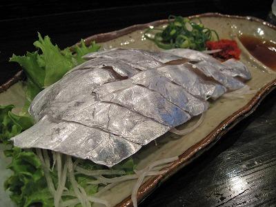 太刀魚造り