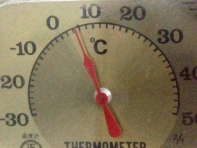 外気温5℃