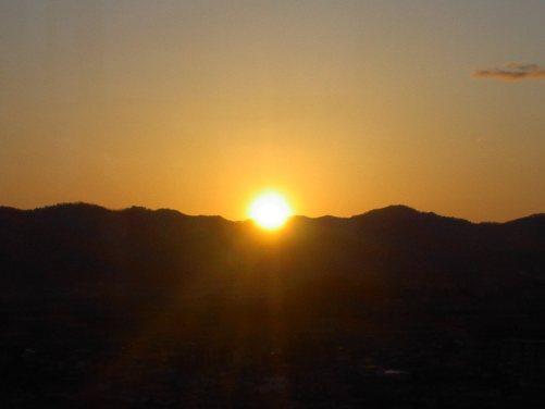 初日の出(2009.01.01)