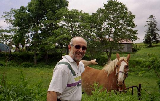 馬と叔父さん