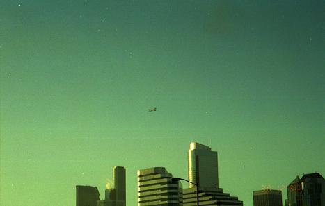 1990  シアトルの空