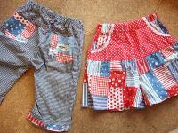 おそろいパンツ&スカート