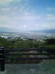 今日はいい天気でした