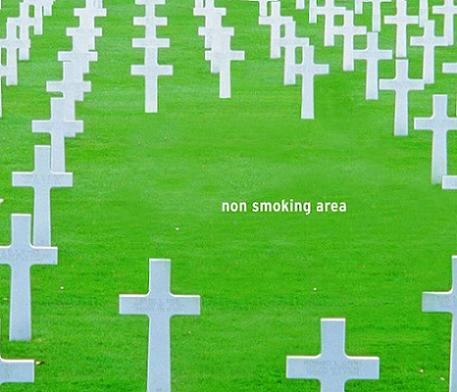 オレが死んだら、線香の代わりにタバコをあげてください。