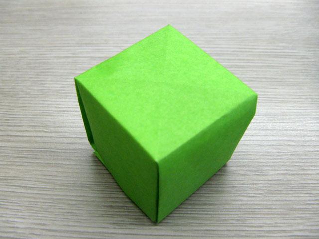 すべての折り紙 折り紙 立方体 作り方 : 協折り紙サークル] by 折り紙 ...