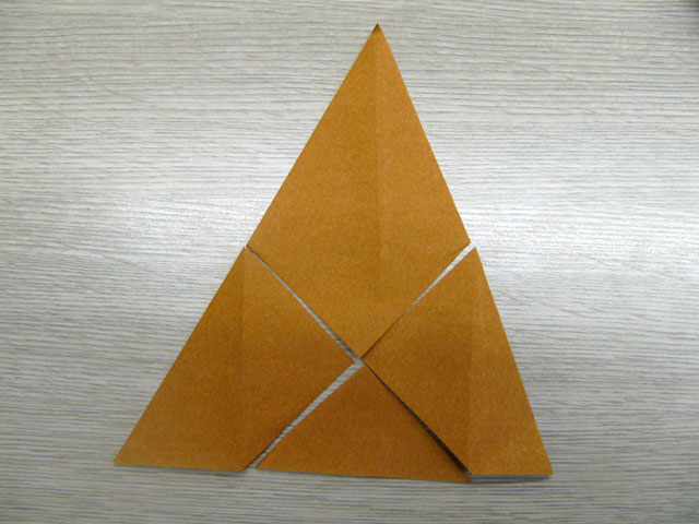 すべての折り紙 折り紙 箱 正方形 折り方 : 正六角形から六面体・正八面体 ...