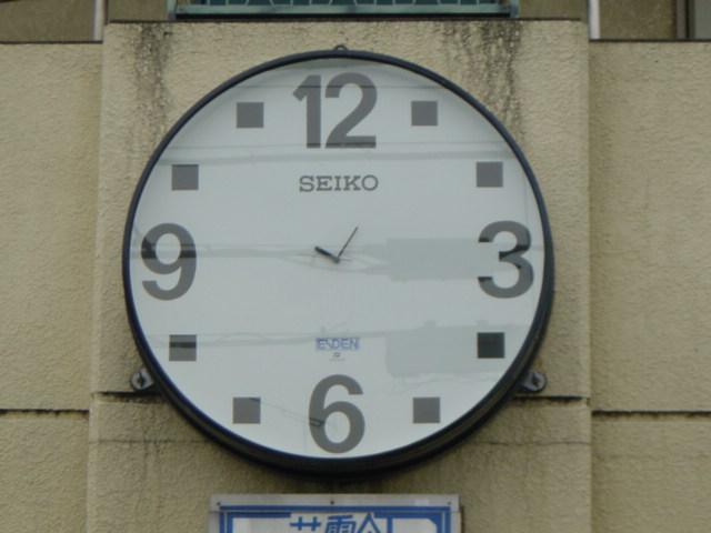 意地悪な大時計w