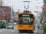 阪堺線 なかなかしゃれた色ですなw