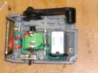 LEDLとスイッチと充電池と発電機、ギヤボックス。。。