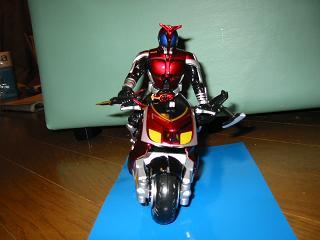 キャストオフカブトとバイク