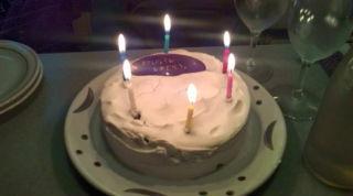 シダックスの誕生日ケーキ