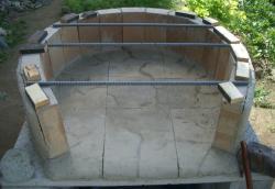 一次燃焼室焼き床最終補修