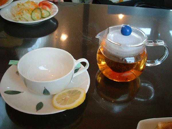有機紅茶。