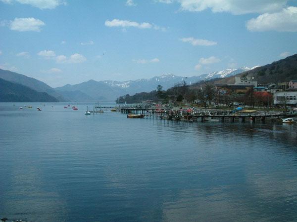 中禅寺湖。