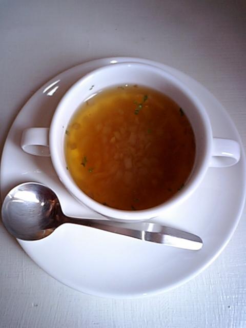 オニオンスープ。