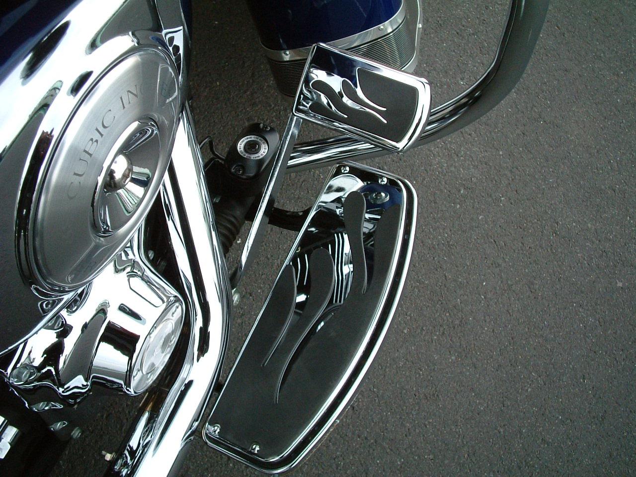 フレイムフットボード&ブレーキペダル